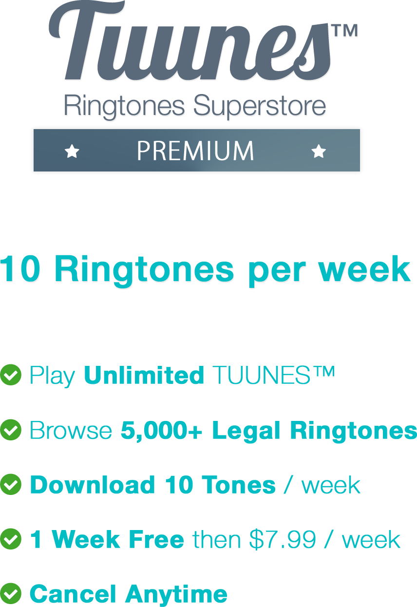 Start FreeTrial with 10 Free Ringtones